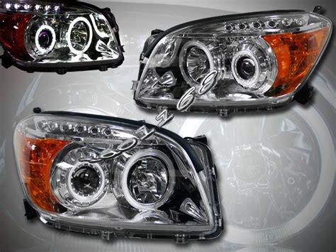 Toyota Rav4 Headlights 2006 2008 Rav4 Rav4 Ccfl Halo Led Projector Headlights Ebay