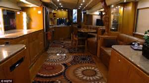 2017 Eagle Fifth Wheel leather ceilings a 30 person screening room and 14