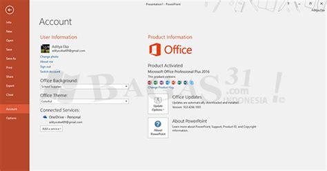 Bagas31 Office 2016   cara aktivasi microsoft office 2016 versi bagas31 com