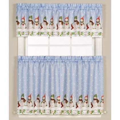 Snowman Kitchen Curtains Kitchen Curtains Tier Curtains Altmeyer S Bedbathhome