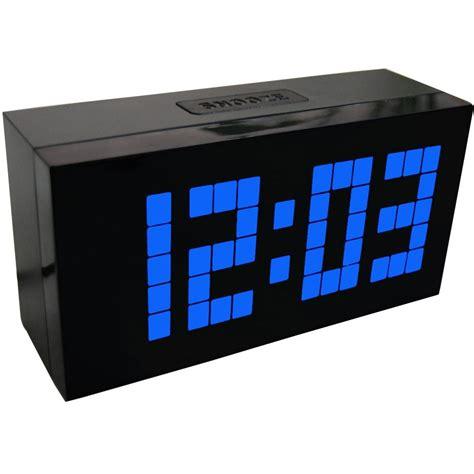 large display big jumbo creative alarm clock light digital wall clock cool clock design