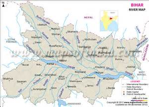 map of rivers river map of bihar india maps rivers and india