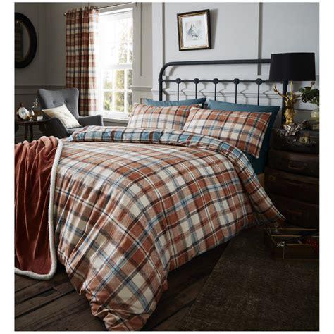 Catherine Set catherine lansfield heritage kelso check bedding set