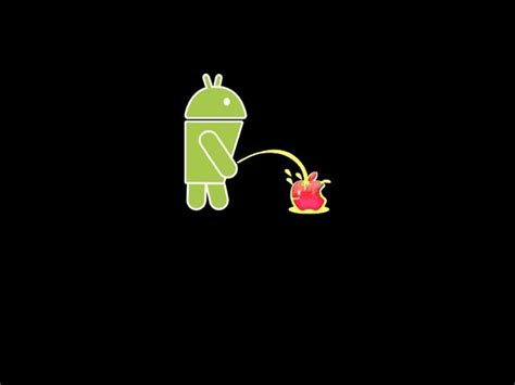 apple wallpaper not moving photo quot droid peeing on apple no android quot in the album