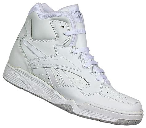 mens high top athletic shoes reebok s bb4600 high top athletic shoe white