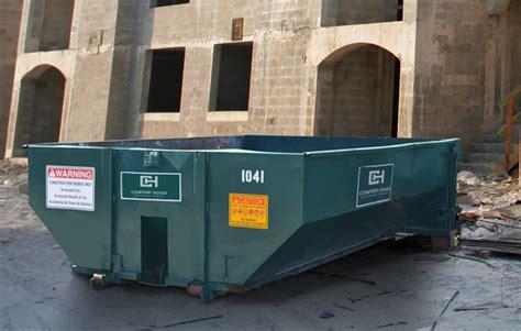 comfort house inc roll off dumpsters comfort house inc dumpster toilet rental