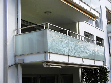Geländer Mit Glas by Metallbau Tangemann Metallbau