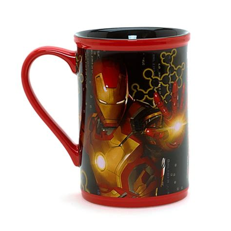 disney iron man large mug cup film ebay