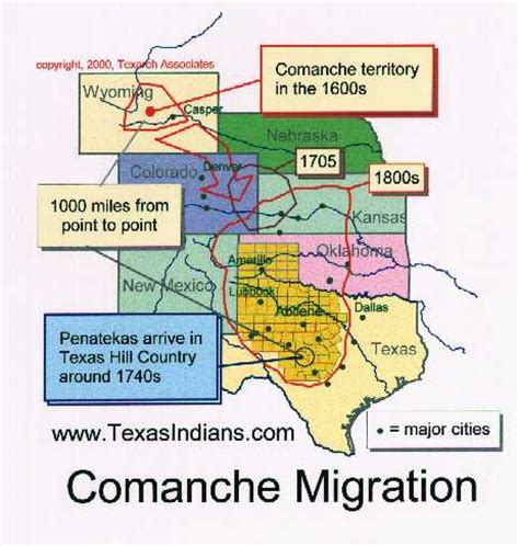 texas indians map the texas apaches