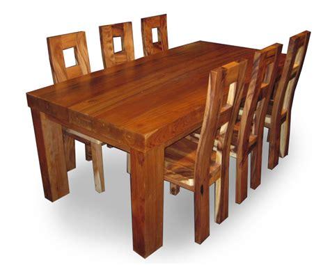 Meja Jepara meja kursi makan trembesi jepara jati furniture
