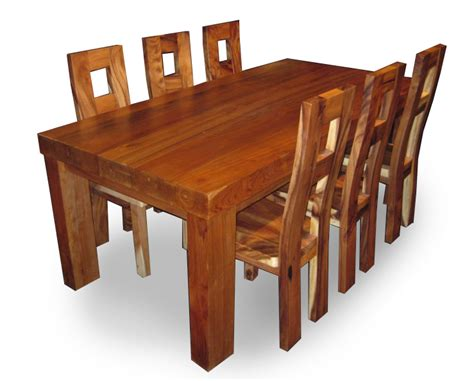 Meja Makan Trembesi meja kursi makan trembesi jepara jati furniture