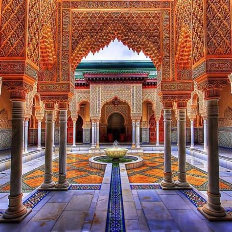 Morocco Moroccan Architecture | pin by k a u t h a r on moroccan architecture design