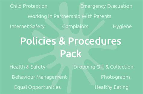 childminding policies templates policies procedures pack mindingkids