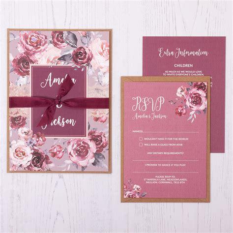 examples of wedding invitations sansalvaje com