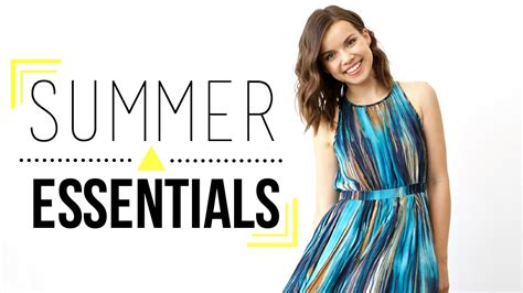 4 Posts With Summer Essentials by Summer Essentials Must Products