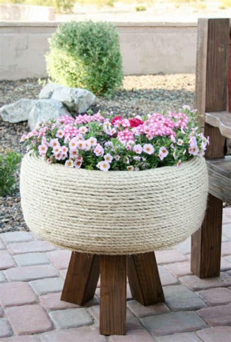 tire garden ideas creative gardening tips plant container from car