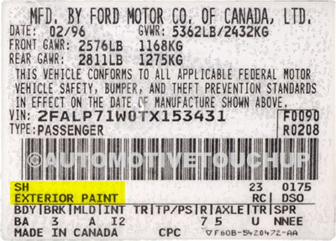 dodge paint code location | get free image about wiring