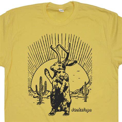 jackalope t shirt mythical animal t shirt cool animal
