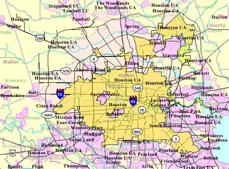 houston etj map geography of houston the wiki