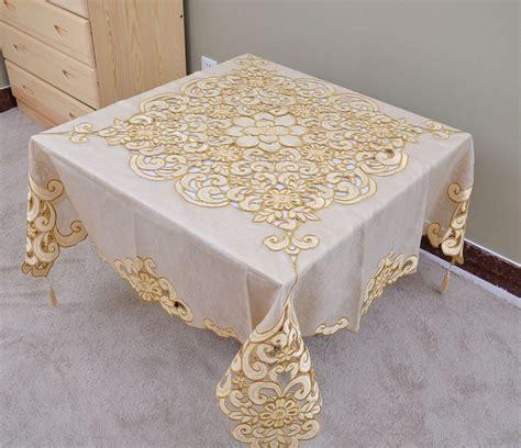 Promo Segiempat Organdi Organza Square Organdi Termurah popular embroidered cutwork tablecloth buy cheap embroidered cutwork tablecloth lots from china