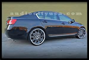 lexus gs 430 custom wheels lexani lx 10 22x10 0 et tire
