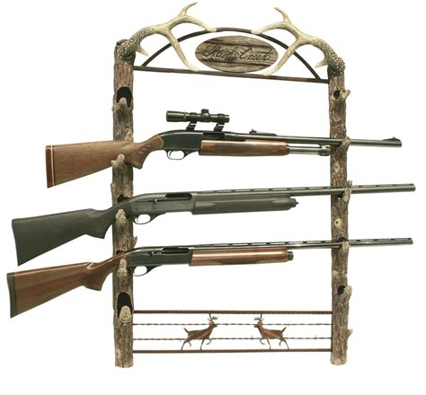 Gun Rack For Wall by Creek Wall Gun Rack 5 Guns Gun Safes