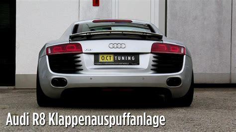 Audi R8 Klappenauspuff by Audi R8 Kompressor 572 Ps Mit Brutaler