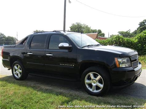 chevy avalanche bed size 2008 chevrolet avalanche ltz 4x4 crew cab short bed fully