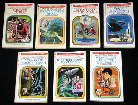 adventure picture books choose your own adventure books lot of 33 between 1 and