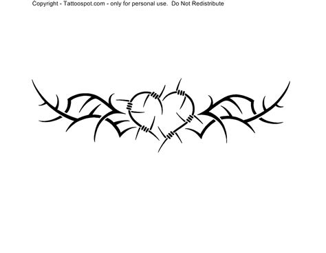 tribal barb wire tattoo barb wire clipart tribal pencil and in color barb wire