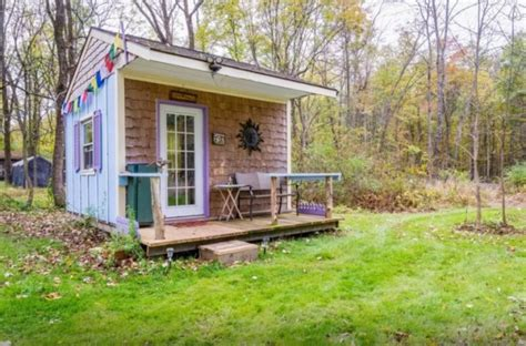 vacation in a tiny house tiny house talk off grid country micro cabin vacation in