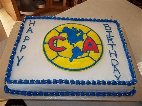 imagenes feliz cumpleaños chivas pasteles del equipo de f 250 tbol am 233 rica tortas del club de