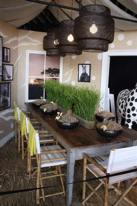 how to bring lively african decor ideas in your home spring summer table decorations that bring in freshness