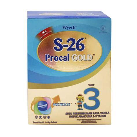 Procal Gold S26 Tahap 3 1 6kg jual s26 procal gold tahap 3 formula 1 4 kg