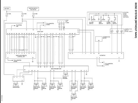 2004 nissan armada wiring diagrams free wiring