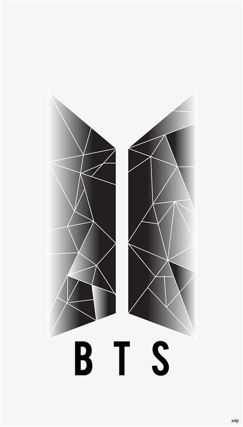 Bts Logo Wallpaper Hd