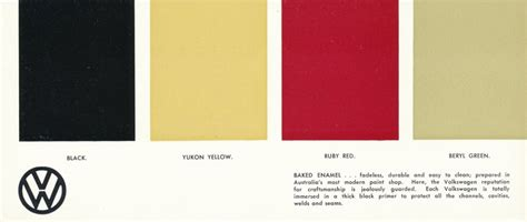 thesamba vw archives 1963 vw beetle paint colors australia