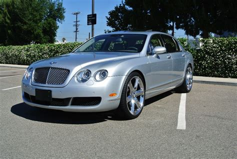 bentley silver 2006 silver bentley continental flying spur