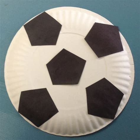 sports crafts for soccer craft mission friends ideas