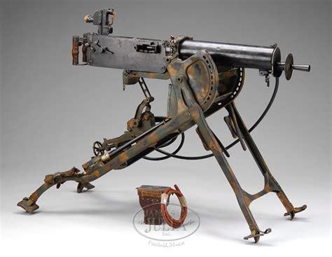 **GERMAN MAXIM MGO8 WATER COOLED MACHINE GUN.