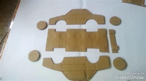 membuat mobil dari kardus tutorial membuat mobil dari kardus bekas youtube