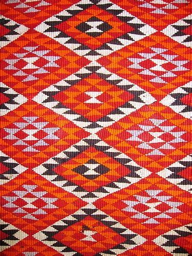 Berber Teppich Im Ethnologisches Museum In Mut Fotos
