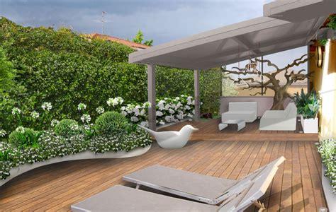 terrazzi fioriti progetti progetto giardino galleria progetti giardini