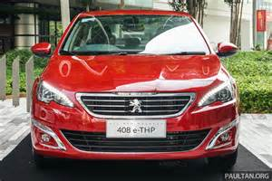 Peugeot In Malaysia Peugeot 408 E Thp Launched In Malaysia Rm144k Image 501613