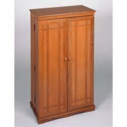 Cd Cupboards Leslie Dame Cd Dvd Media Storage Cabinet W Dr Oak Ebay