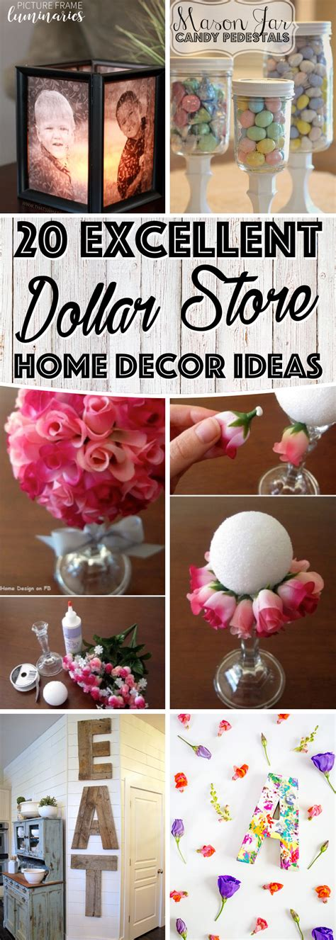 Superstore Home Decor 20 Excellent Dollar Store Home Decor Ideas