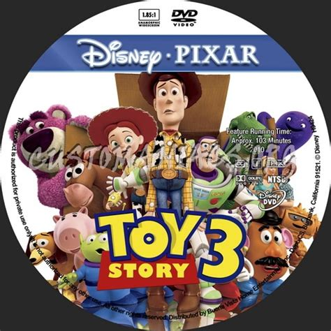 Label Story 3 story 3 animation collection dvd cover dvd covers