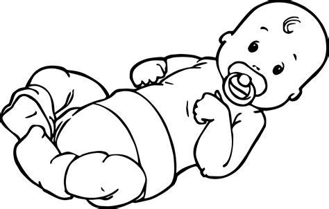 baby boy top coloring page wecoloringpagecom