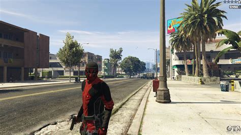 mod gta 5 deadpool the deadpool mod para gta 5