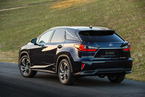 lexus rx 350 f sport 2016 2016 lexus rx 350 f sport and rx 450h show up in nyc